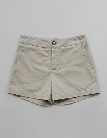 FLAT COTTON SHORTS