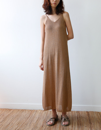 SLIP KNIT DRESS
