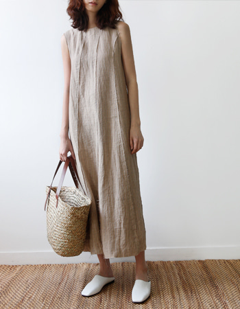FINOR LINEN DRESS
