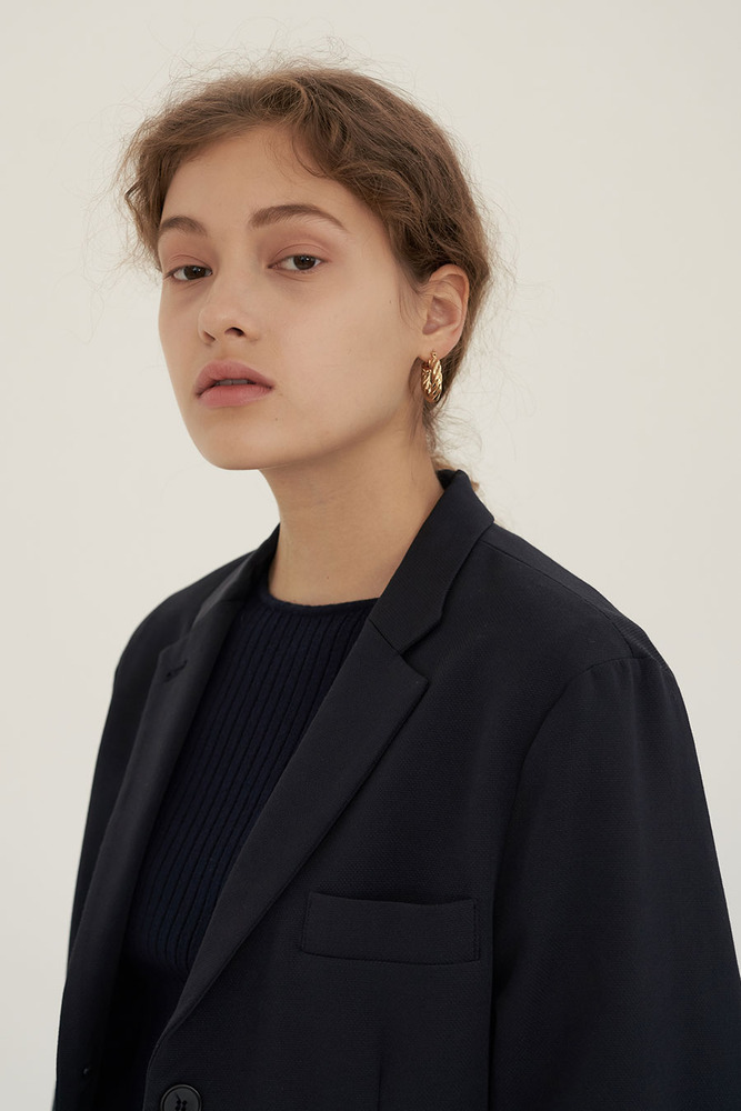 FLAT STRUCTURE JACKET