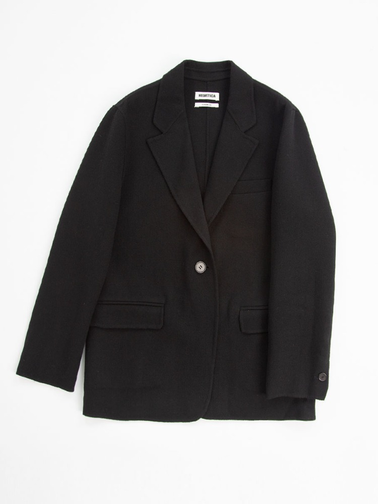 SINGLE WOOL JACKET
