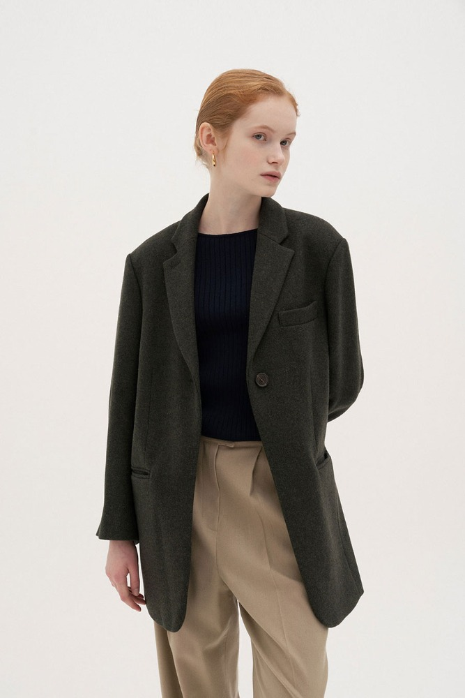 STRUCTURE WOOL JACKET