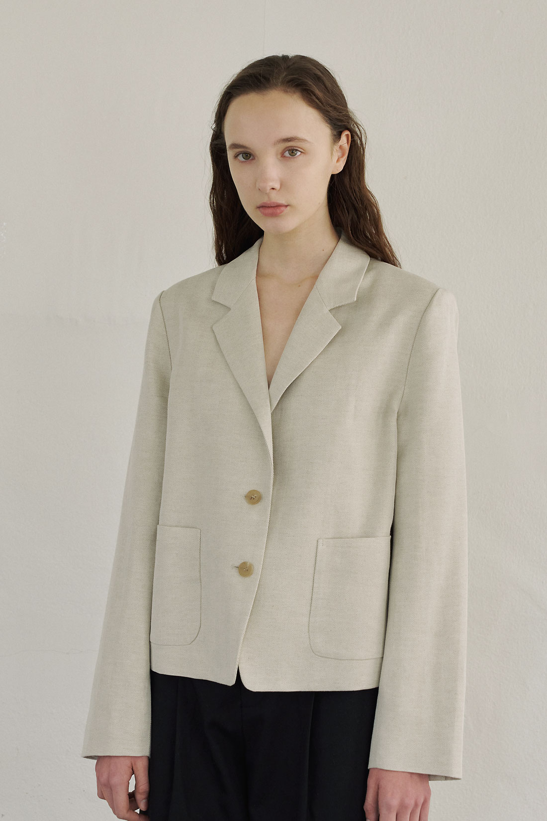 Bout Linen Jacket(Natural)