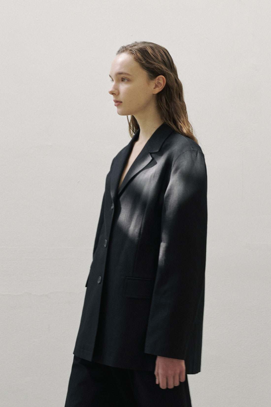 Neat Cotton Jacket(black)