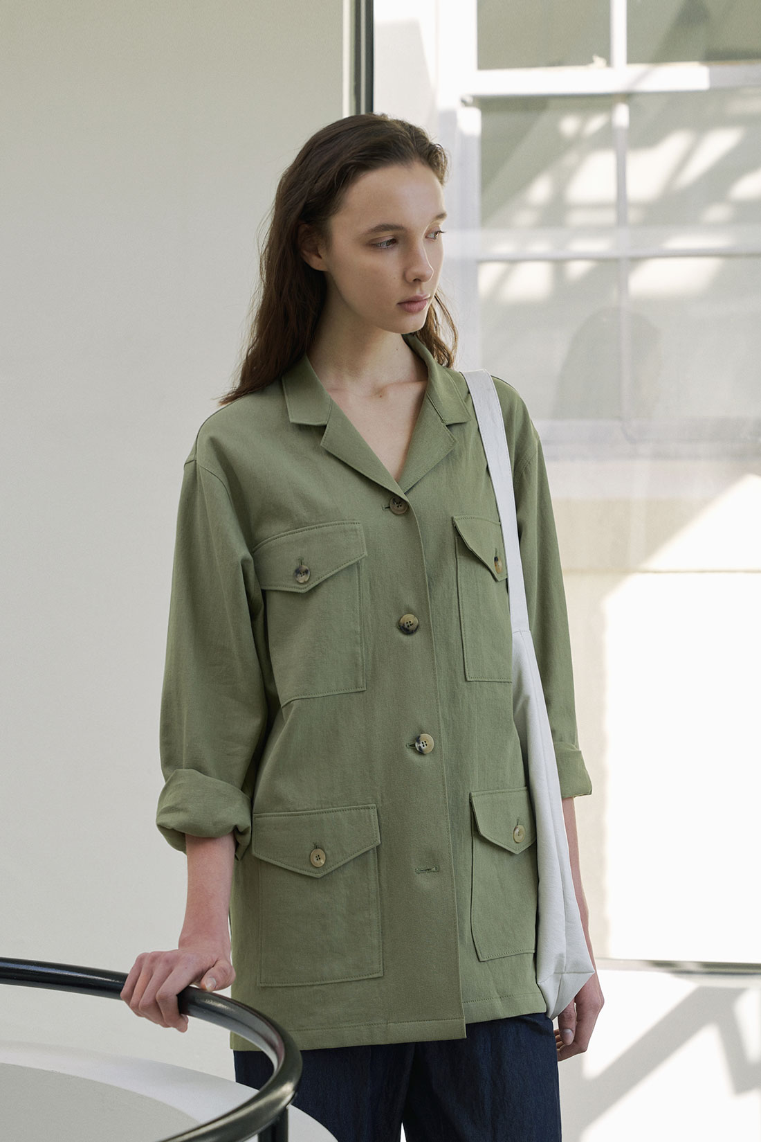 Spend Field Jacket(Khaki)